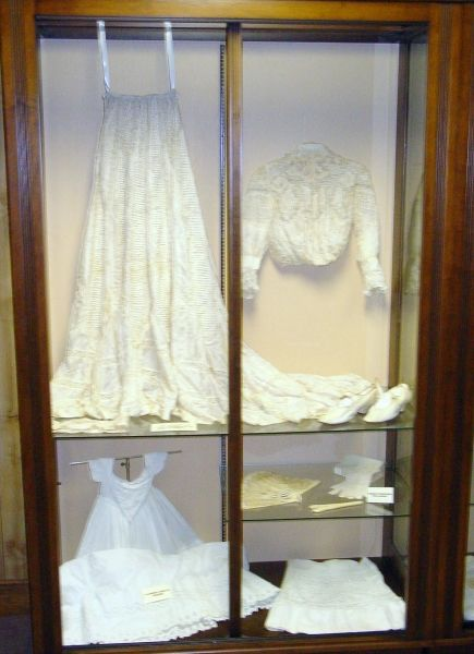 Find out the sad secret of the bride's dress ... at the Louisiana History Museum