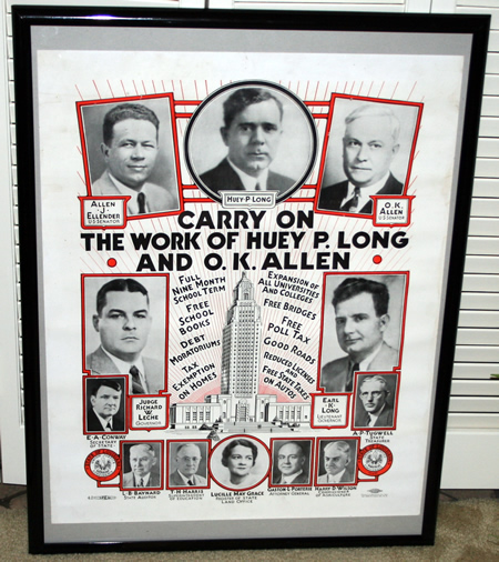 Carry On ... The Work of Huey P. Long and O.K. Allen