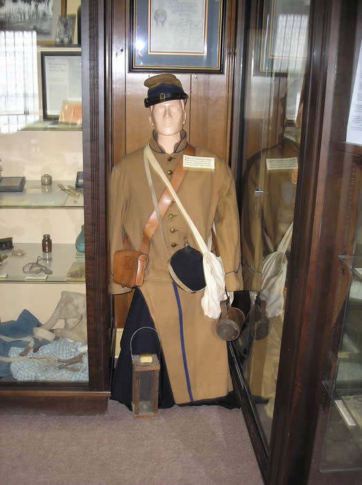 Civil War Butternut Confederate Uniform